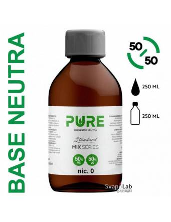 Pure BASE NEUTRA 250ml 50/50 Standard (senza nicotina)