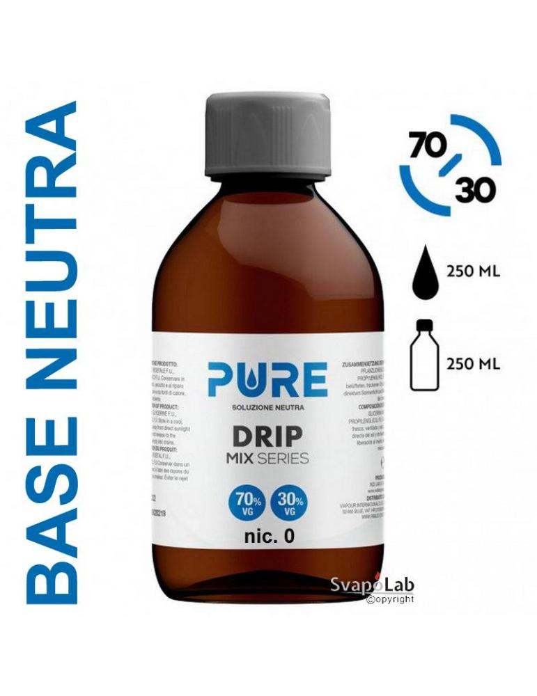 Pure BASE 250ml - 70/30 (senza nicotina)
