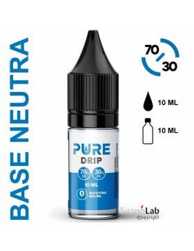 Pure BASE 10ml - 70/30 (basetta con e senza nicotina)