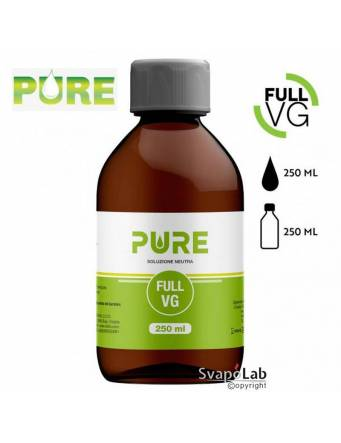 Pure FULL VG 250 ml - Glicerina Vegetale