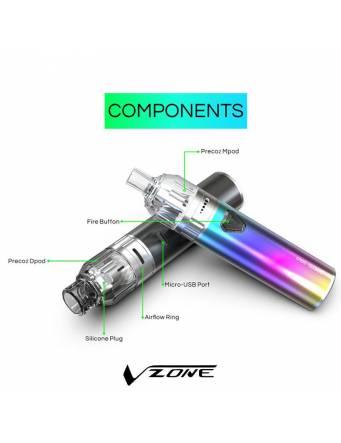 Vzone PRECO 2 SOLO kit (1 Dpod/1 Mpod) componenti
