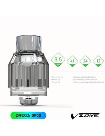 Vzone PRECO 2 SOLO kit (1 Dpod/1 Mpod) atom polmonare