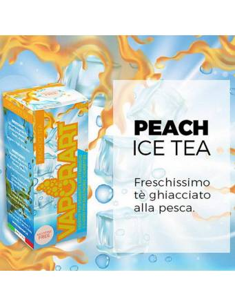Vaporart PEACH ICE TEA liquido pronto 10ml