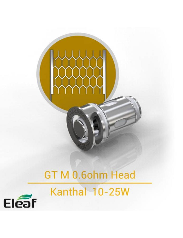 Eleaf GT-M coil Mesh 0,6ohm/10-25W (1 pz)  per IJUST MINI e IJUST AIO