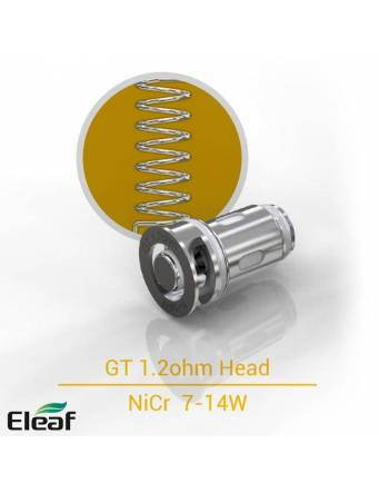 Eleaf GT coil 1,2ohm/7-14W (1 pz) per IJUST MINI kit e tank