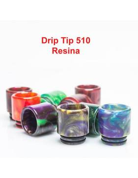 Drip Tip 510A Resina (random colors) by Demon Killer