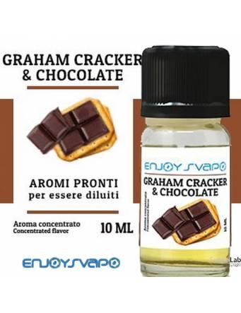 EnjoySvapo GRAHAM CRAKER & CHOCOLATE aroma concentrato 10ml