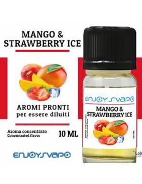 EnjoySvapo MANGO & STRAWBERRY ICE 10ml aroma concentrato