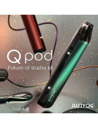 Justfog QPOD kit 900mah (pod 1,9ml) – 1,9ml