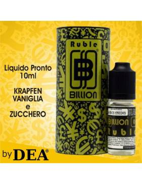 DEA Billion RUBLE 10ml liquido pronto by Dea Flavor