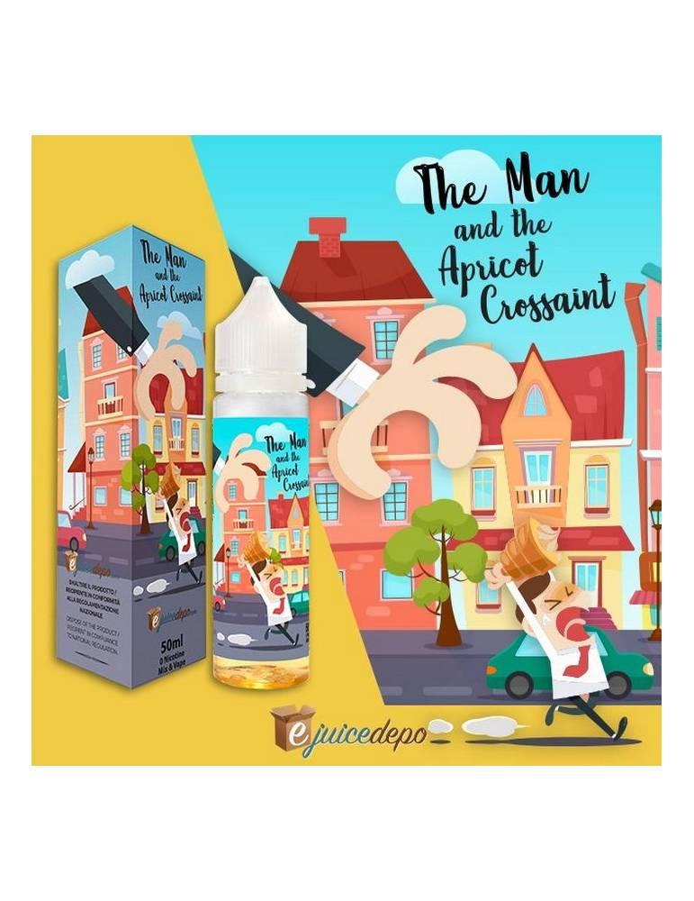 EjuiceDepo THE MAN AND THE APRICOT CROISSANT Mix&Vape 50ml e-liquid da miscelare by Vaporart