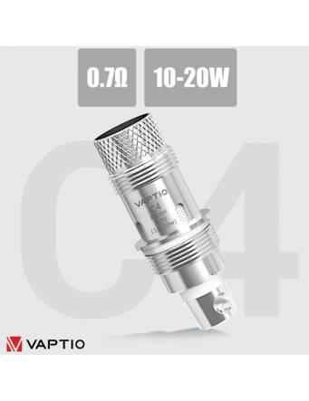 Vaptio COSMO C4 coil mesh 0,7 ohm/10-20W (1 pz)