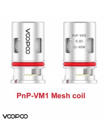 VooPoo VINCI PNP-VM1 coil 0,3 ohm/32-40W (1 pz) ricambio per Vinci,Vinci X,Vinci R,Drag baby