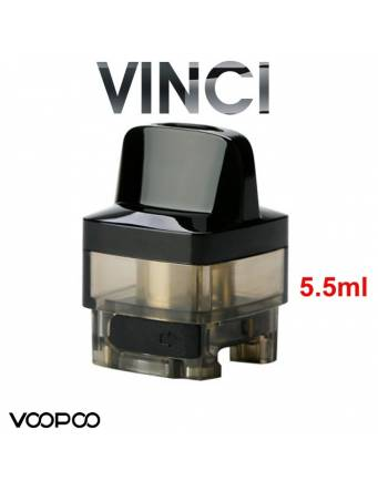 VooPoo VINCI POD 5,5ml (2 pz) cartuccia di ricambioper Vinci,Vinci X,Vinci R,Drag baby