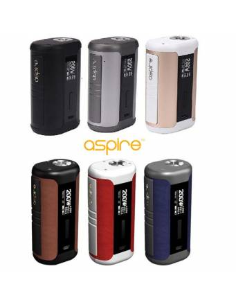 Aspire SPEEDER 200W box mod - colori