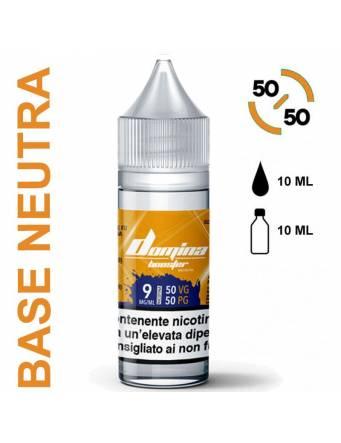 Domina Base BOOSTER 50/50 - 10ml - nic.09 mg/ml (basetta neutra con nicotina)
