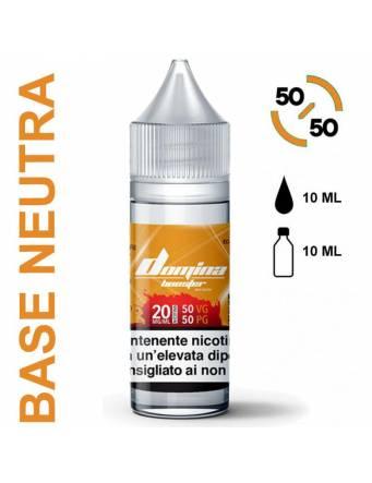 Domina Base BOOSTER 50/50 - 10ml - nic.20mg/ml (basetta neutra con nicotina)