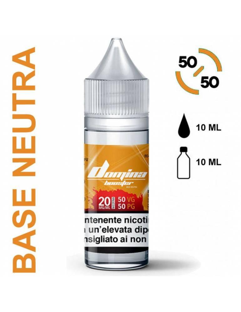 Domina Base BOOSTER 50/50 - 10ml (basetta con nicotina 20mg/ml)