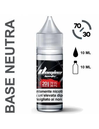 Domina Base BOOSTER 70/30 - 10ml - nic.20mg/ml (basetta neutra con nicotina)
