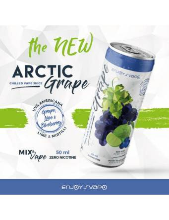 Enjoy Svapo NEW ARCTIC GRAPE Mix&Vape 50ml - eliquid da miscelare