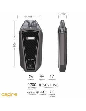Aspire AVP PRO kit 1200mah (pod 4ml) caratteristiche