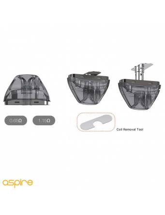 Aspire AVP PRO kit 1200mah (pod 4ml) cambio coil