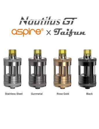 Aspire Nautilus GT tank 3ml/4,2ml (ø24mm) colori