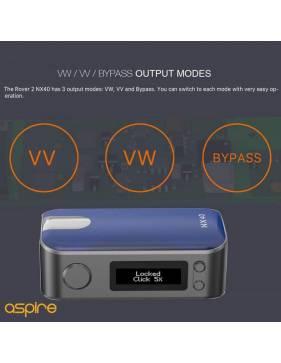 Aspire ROVER 2 NX40 2200mah/40W box mod - modalità