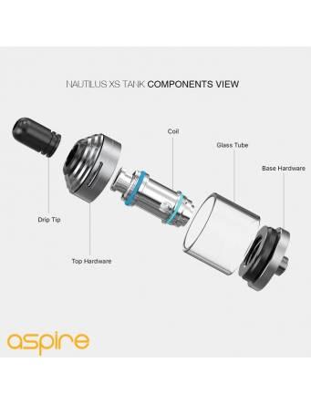 Aspire Nautilus XS tank 2ml - componenti