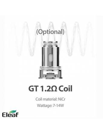 Eleaf iJUST AIO kit 1500mah–pod 2ml (ø22mm) - resistenza 1.2