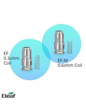 Eleaf ISTICK T80 kit 3000mah/80W (con PESSO tank 5ml) - resistenze