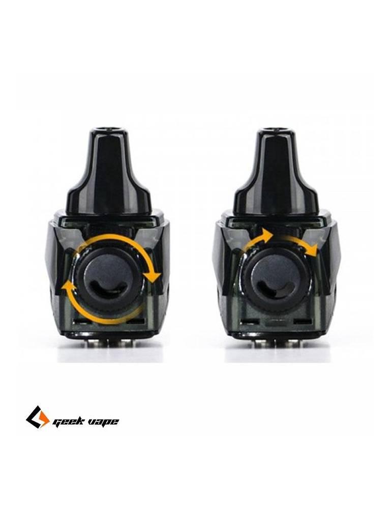 Geekvape AEGIS BOOST pod 3,7ml (2 pz – NO COIL) di ricambio