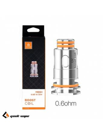 Geekvape AEGIS BOOST coil 0,6ohm/15-25W (1 pz) testina di ricambio