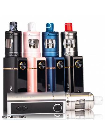 Innokin COOLFIRE Z50 kit 2100mah/50W (con ZLIDE tank 2ml) - colori
