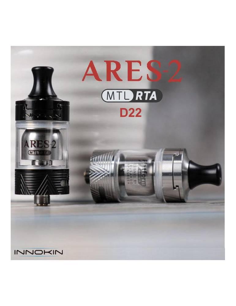 Innokin ARES 2 D22 tank MTL/RTA 2ml (1 pz) -