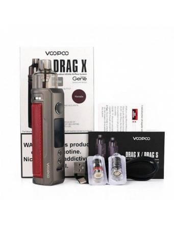 VooPoo DRAG X pod kit 80W (pod 4,5ml) - confezione