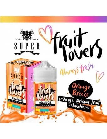 "Super Flavor ""Fruit Lovers"" ORANGE BREEZE 50ml Mix&Vape"