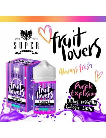 "Super Flavor ""Fruit Lovers"" PURPLE EXPLOSION 50ml Mix&Vape"