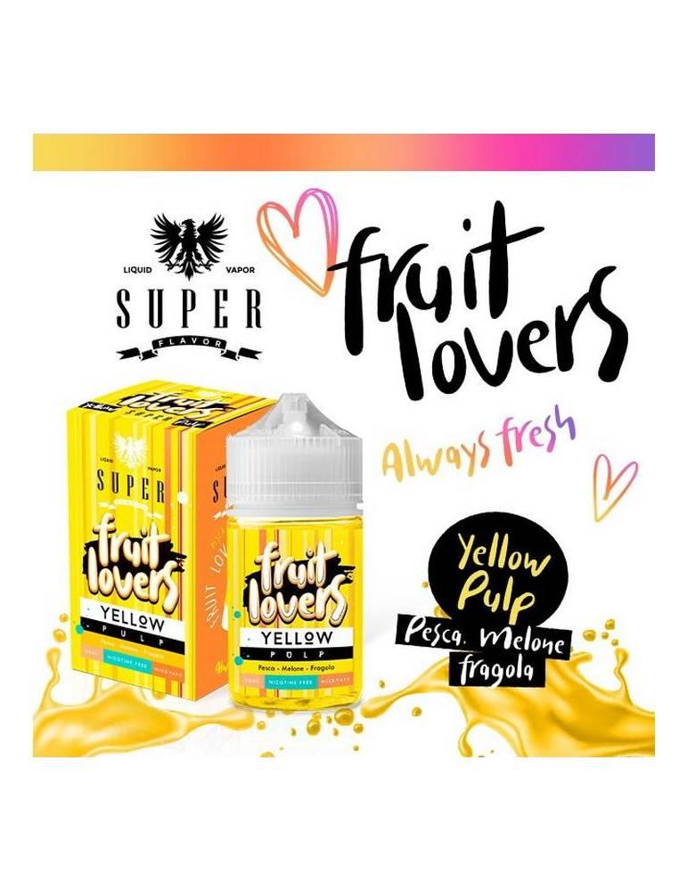 """Super Flavor """"Fruit Lovers"""" YELLOW PULP 50ml Mix&Vape"""