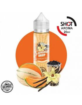 "Dreamods ""Summer Drop"" MELONE VANIGLIA TEA BOBA 20 ml aroma scomposto"