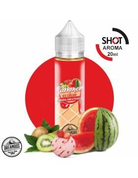 """Dreamods """"Summer ICE Cream"""" ANGURIA KIWI FRAGOLA 20 ml aroma scomposto"""