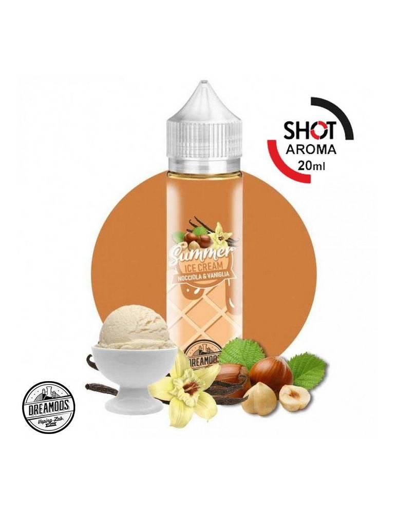 """Dreamods """"Summer ICE Cream"""" NOCCIOLA VANIGLIA 20 ml aroma scomposto"""