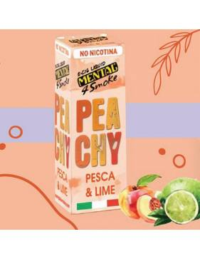 Mental PEACHY (pesca e lime) 10ml liquido pronto