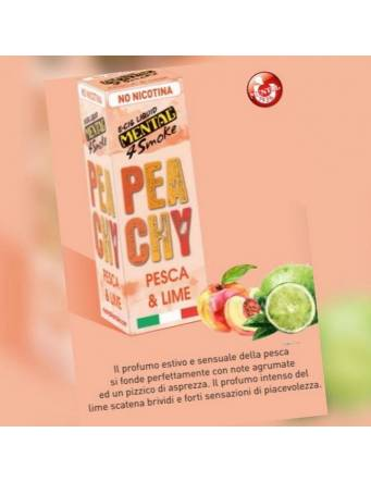 Mental PEACHY (pesca e lime) 10ml liquido pronto LP