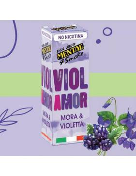 Mental VIOLAMOR (mora e violetta) 10ml liquido pronto