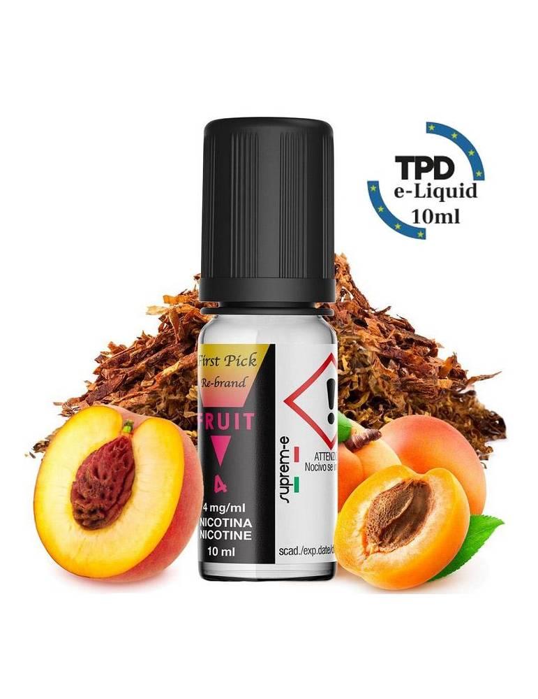 Suprem-e FIRST PICK Re-Brand FRUIT 10 ml liquido pronto