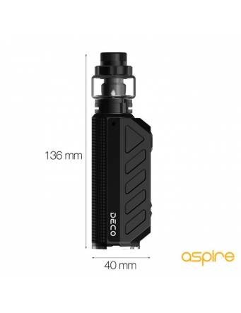 Aspire DECO kit 100w (con ODAN EVO tank 2ml) - misure