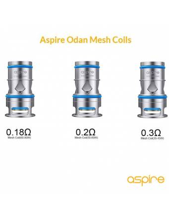 Aspire ODAN EVO tank 2ml (ø22mm) resistenze