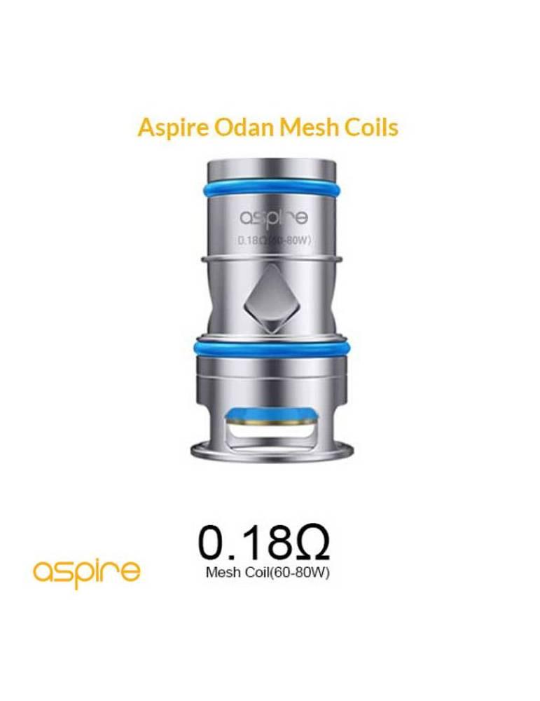 Aspire ODAN coil 0,18ohm (3 pz)