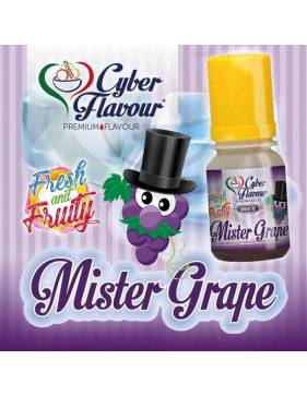 """Cyber Flavour """"FRESH"""" Mr Grape 10 ml aroma concentrato"""
